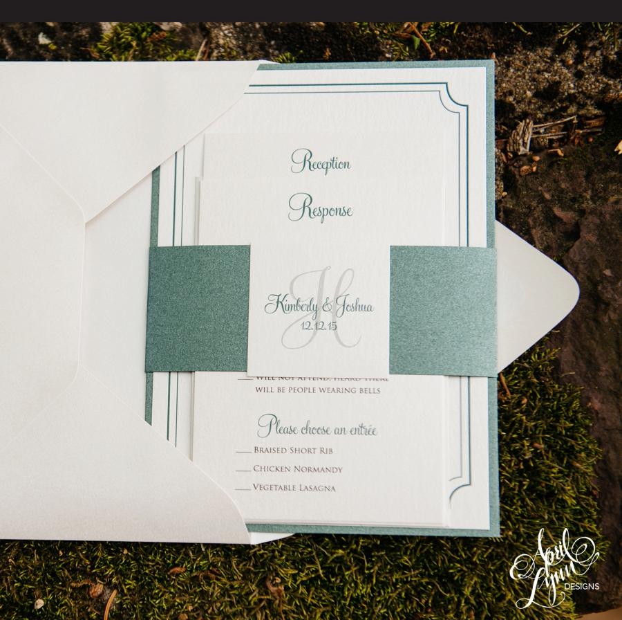 April_Lynn_Designs_Kimberly_Joshua_Blue_Bell_Country_Club_December_Winter_Wedding_Emerald_Green_Elegant_feature