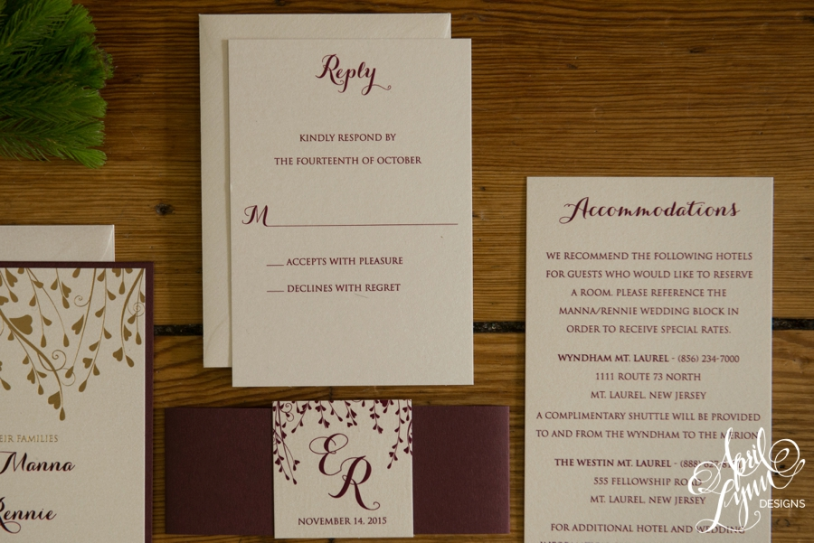 April_Lynn_Designs_Liz_Rob_Fall_Wedding_Invitation_Gold_Foil_Burgundy_The_Merion_New_Jersey_3