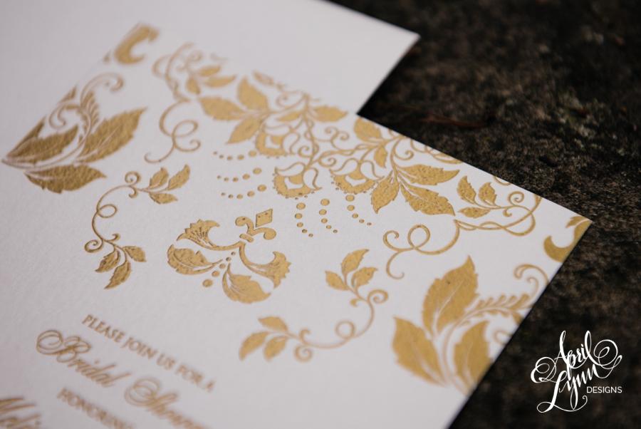 April_Lynn_Designs_Melissa_Bridal_Shower_Invite_Gold_Thermography5-1