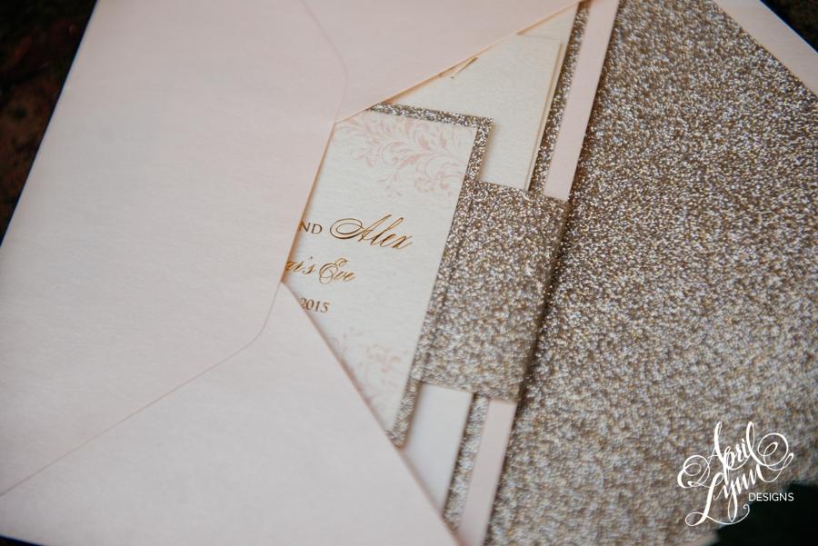 April_Lynn_Designs_Gold_Glitter_Foil_Blush_Wedding_Invitation_New_Years_Eve_Palace_at_Somerset_Park_New_Jersey2
