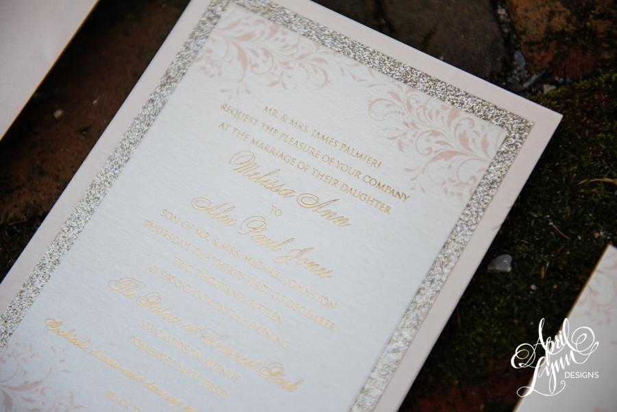 April_Lynn_Designs_Gold_Glitter_Foil_Blush_Wedding_Invitation_New_Years_Eve_Palace_at_Somerset_Park_New_Jersey8.