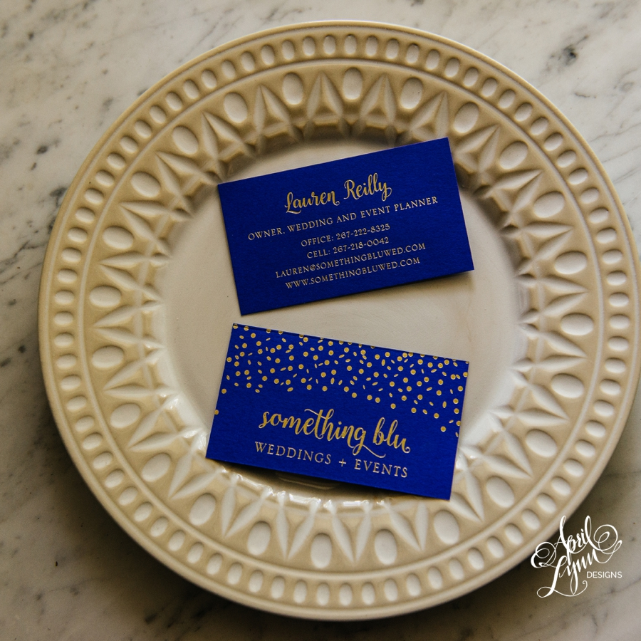 Branding: Something Blu Weddings + Events | April Lynn Designs ...