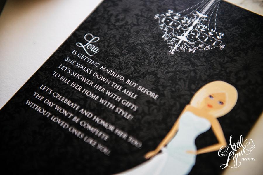 April_Lynn_Design_Bridal_Shower_Invitation_Blonde_Damask_Chandelier5