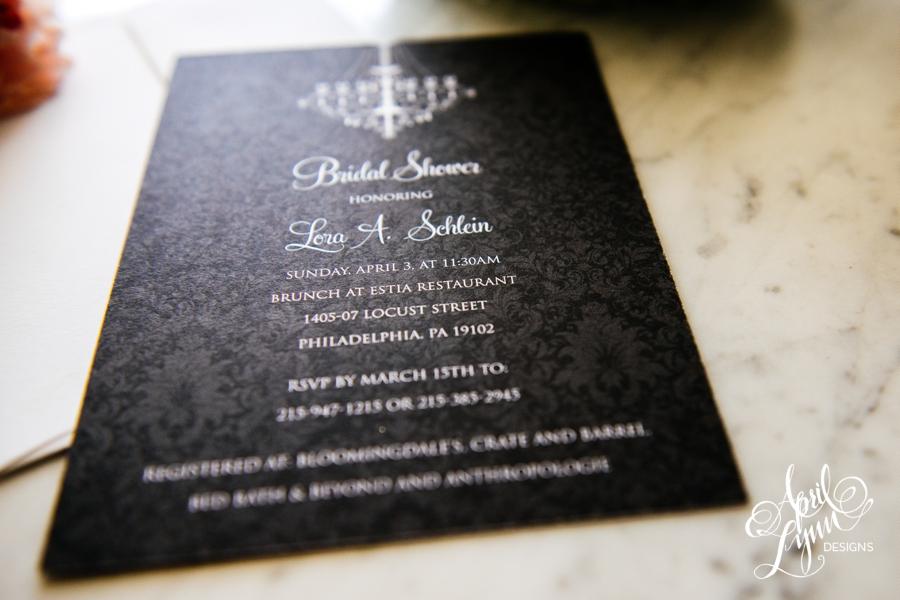 April_Lynn_Design_Bridal_Shower_Invitation_Blonde_Damask_Chandelier8