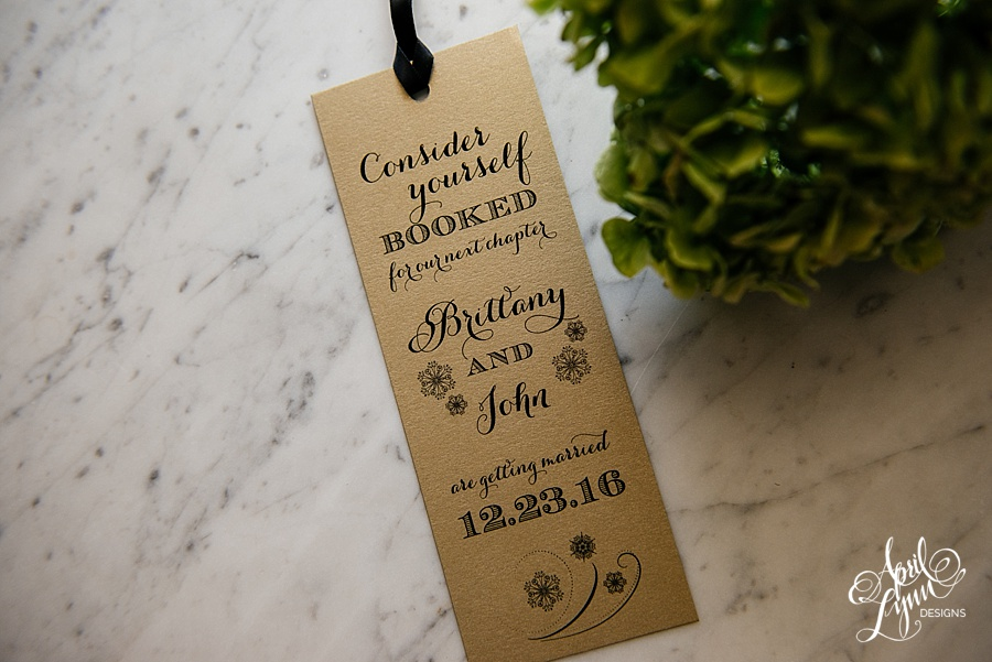 April_Lynn_Designs_Bookmark_Save_the_date_Christmas_Winter_Wedding_December_Brittany_John3