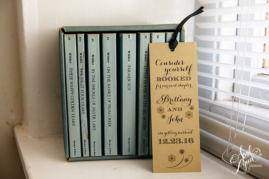 April_Lynn_Designs_Bookmark_Save_the_date_Christmas_Winter_Wedding_December_Brittany_John4