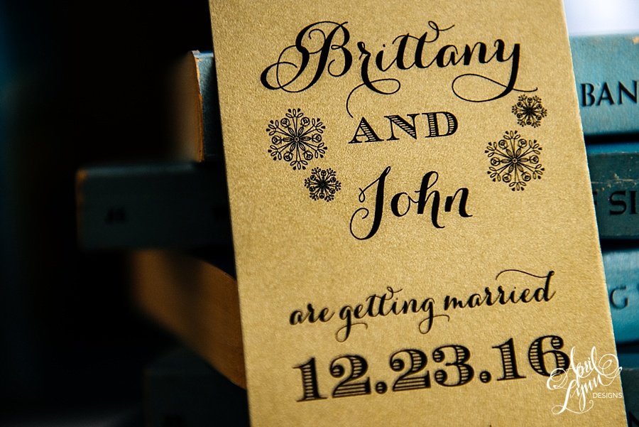 April_Lynn_Designs_Bookmark_Save_the_date_Christmas_Winter_Wedding_December_Brittany_John6