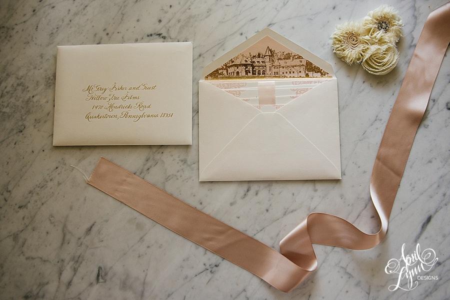 April_Lynn_Designs_Stasia_Matt_Blush_Pink_Gold_Foil_Nazareth_Academy_Cairnwood_Estate_Luxury_Wedding_Invitation_Philadelphia_Regal_Luxe1
