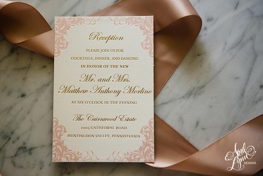 April_Lynn_Designs_Stasia_Matt_Blush_Pink_Gold_Foil_Nazareth_Academy_Cairnwood_Estate_Luxury_Wedding_Invitation_Philadelphia_Regal_Luxe12