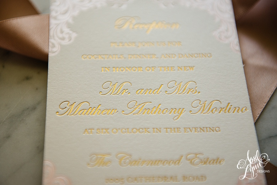 April_Lynn_Designs_Stasia_Matt_Blush_Pink_Gold_Foil_Nazareth_Academy_Cairnwood_Estate_Luxury_Wedding_Invitation_Philadelphia_Regal_Luxe14