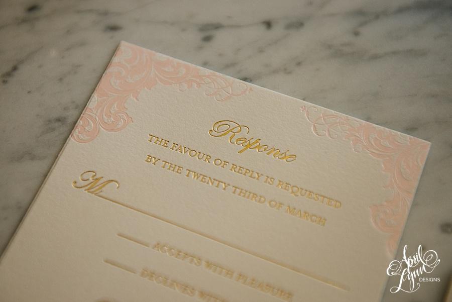 April_Lynn_Designs_Stasia_Matt_Blush_Pink_Gold_Foil_Nazareth_Academy_Cairnwood_Estate_Luxury_Wedding_Invitation_Philadelphia_Regal_Luxe17