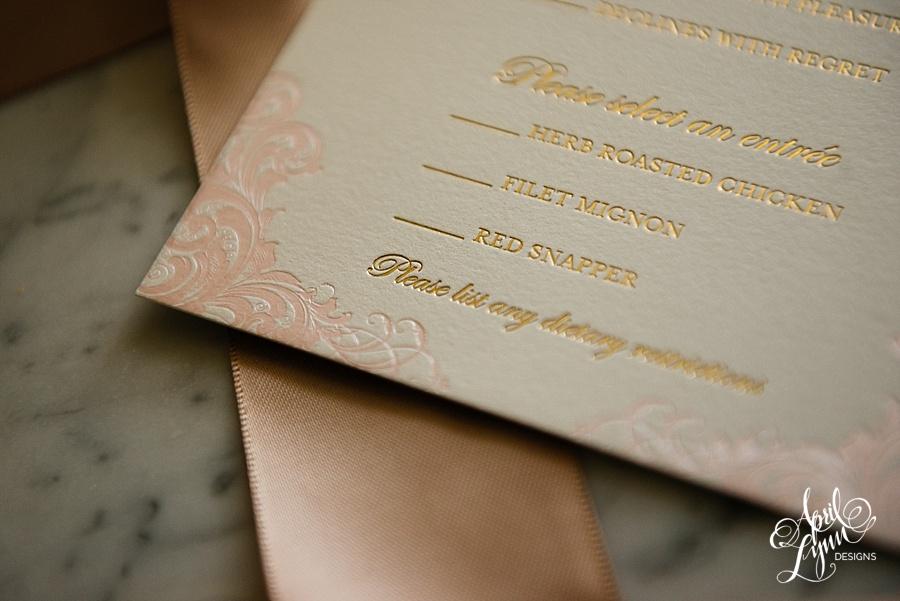 April_Lynn_Designs_Stasia_Matt_Blush_Pink_Gold_Foil_Nazareth_Academy_Cairnwood_Estate_Luxury_Wedding_Invitation_Philadelphia_Regal_Luxe19