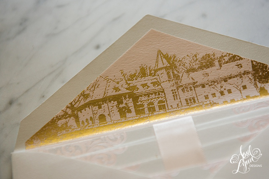 April_Lynn_Designs_Stasia_Matt_Blush_Pink_Gold_Foil_Nazareth_Academy_Cairnwood_Estate_Luxury_Wedding_Invitation_Philadelphia_Regal_Luxe2-2