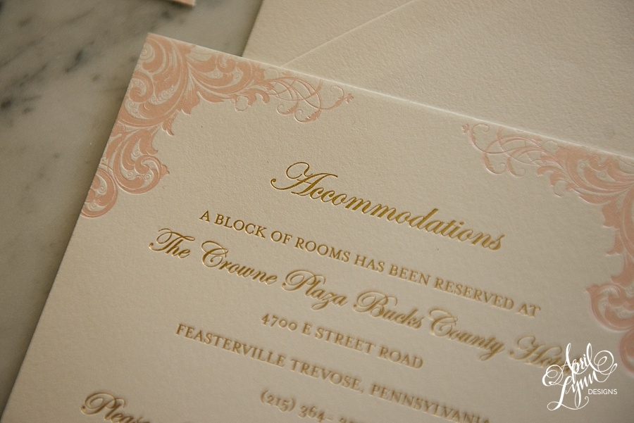April_Lynn_Designs_Stasia_Matt_Blush_Pink_Gold_Foil_Nazareth_Academy_Cairnwood_Estate_Luxury_Wedding_Invitation_Philadelphia_Regal_Luxe21