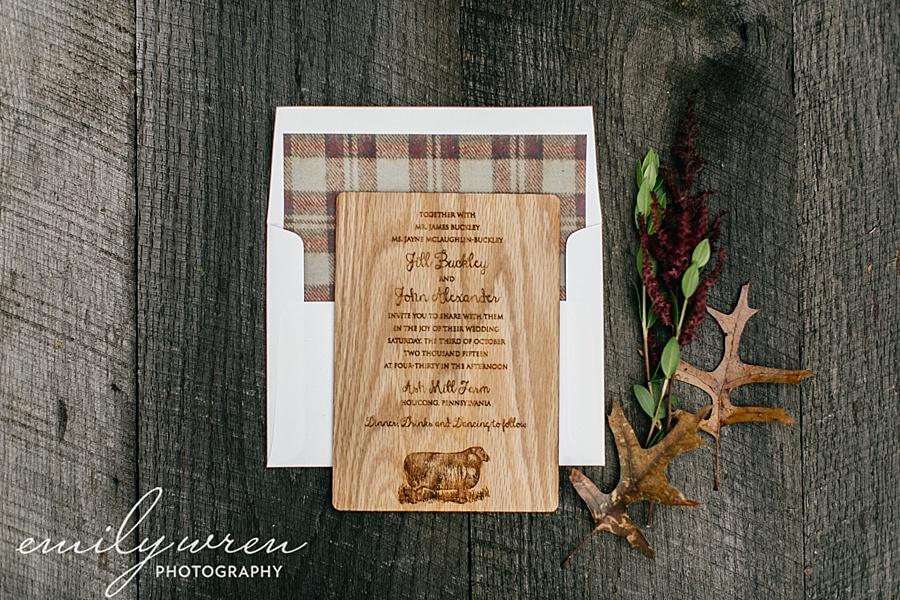 Emily_Wren_Photography_April_Lynn_Designs_Ash_Mill_Farm_Jill_John_October_Rustic_Wedding_Flannel_Farm_Sheep_Holicong_New_Hope006