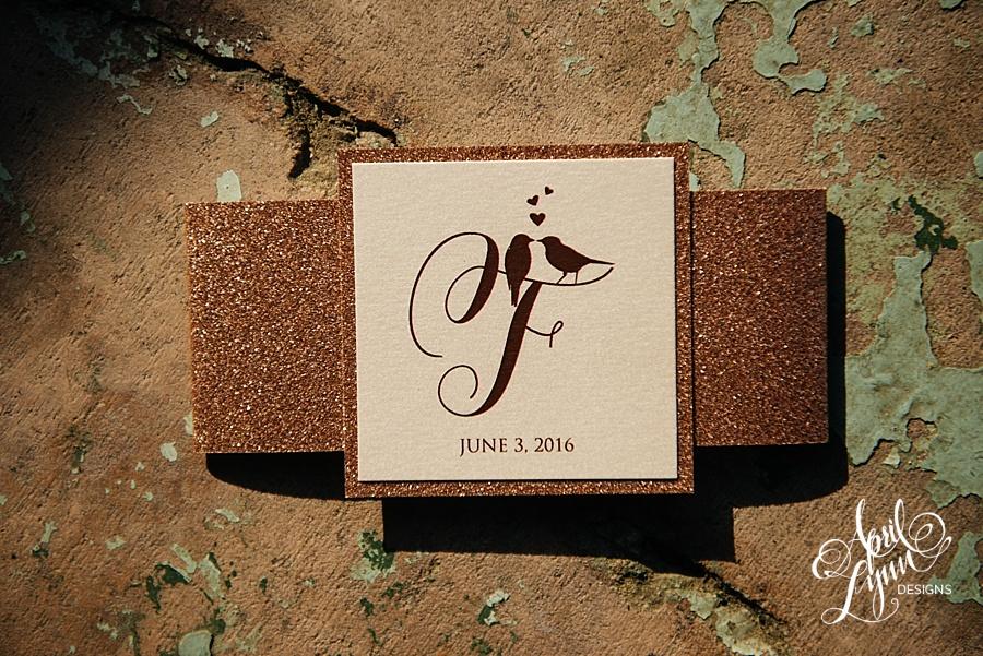 Erin   Rich U0026 39 S Rustic Glam Rose Gold Foil And Glitter