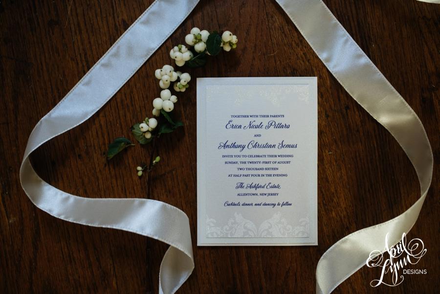 april_lynn_designs_erica_anthony_ashford_estate_wedding_allentown_new_jersey_luxe_glitter_purple_clutch_wedding_invitation_1