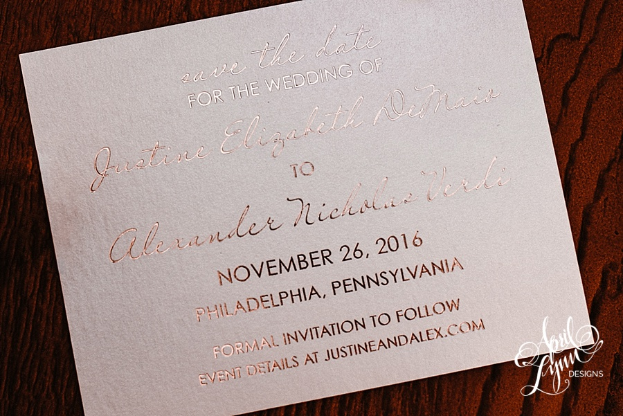 april_lynn_designs_justine_alex_rose_gold_foil_stamping_save_the_date_philadelphia_elegant_romantic_luxe_couture_bespoke2
