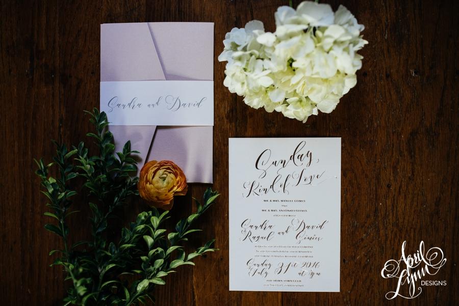 cescaphe, rose gold foil wedding invitation, philadelphia, romantic, down town club, blush, romance