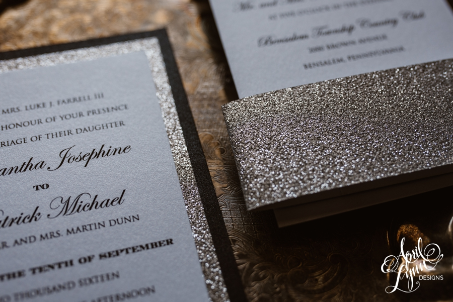 Samantha + Patrick\'s Modern Traditional Wedding Invitation Suite ...