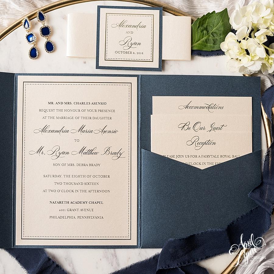 April_Lynn_Designs_Alexandria_Ryan_Cescaphe_Philadelphia_Wedding_Invitation_Navy_Gold_Foil_Wedding_Invitation_Suite_Elegant_Modern_Atrium_at_Curtis_Center_Wedding_Pennsylvania_4301