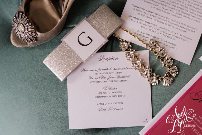 New Wedding Invitation Designs: Teresa + Jim's Custom Acrylic Wedding Invitation Suite