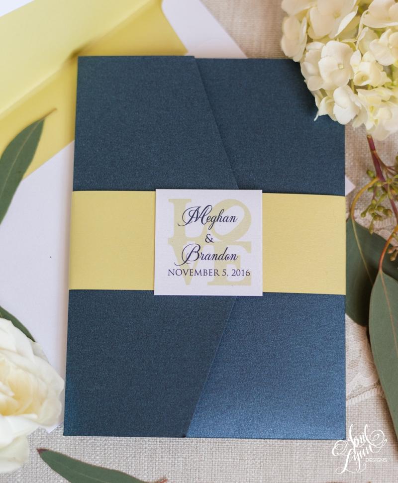 Meghan and Brandon's Philadelphia-Themed Wedding Invitation Suite   www.aprillynndesigns.com