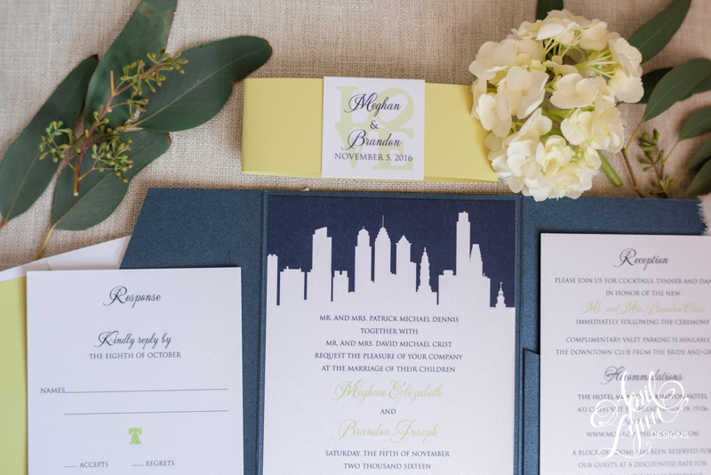 Cescaphe Event Group Wedding Invitation | www.aprillynndesigns.com