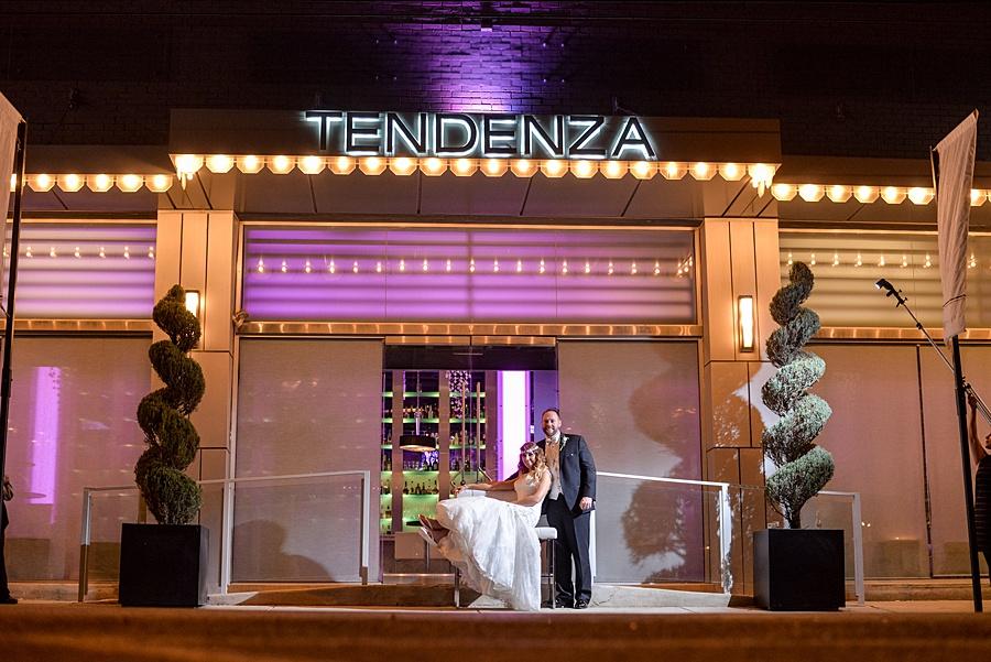 Tendenza wedding with custom wedding stationery by April Lynn Designs   www.aprillynndesigns.com