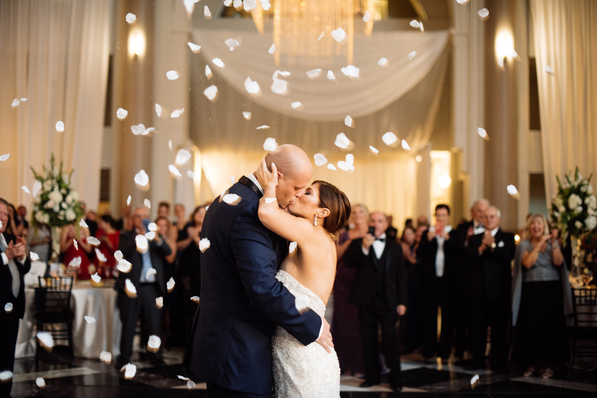 Allie and Ryan's Elegant Philadelphia Wedding at the Curtis Center | www.aprillynndesigns.com