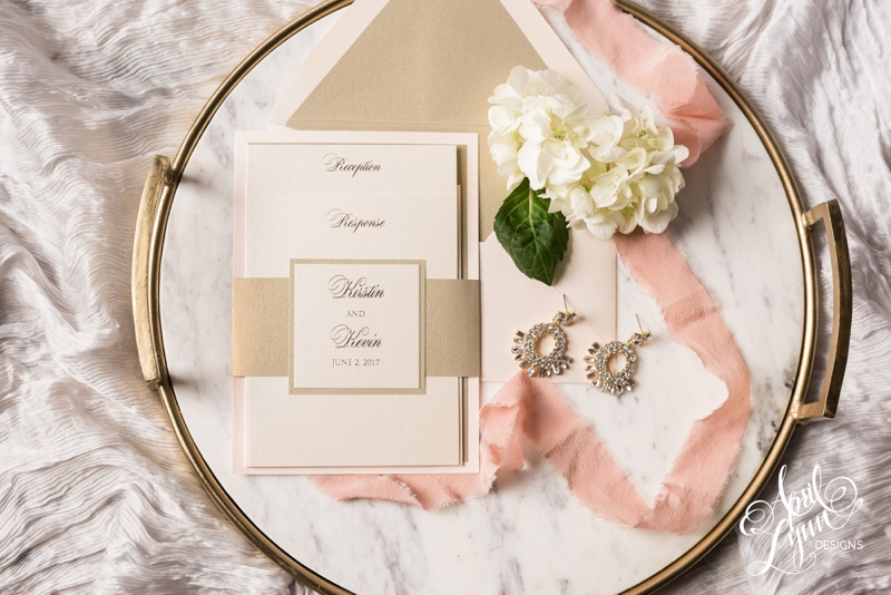 Luxury Classic Wedding Invitation Suite | www.aprillynndesigns.com