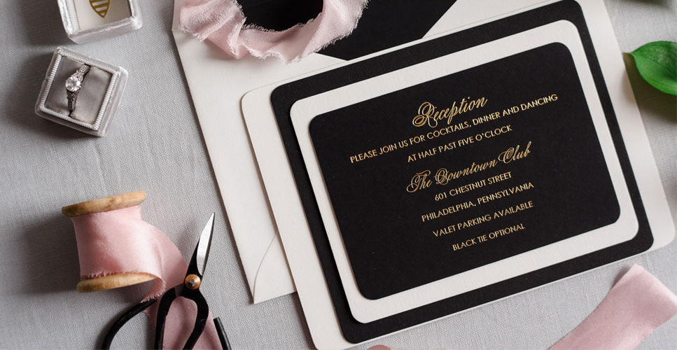 April_Lynn_Designs_The_Down_Town_Club_Cescaphe_Events_Group_Philadelphia_Luxury_Wedding_Invitation_Black_Gold_967_500