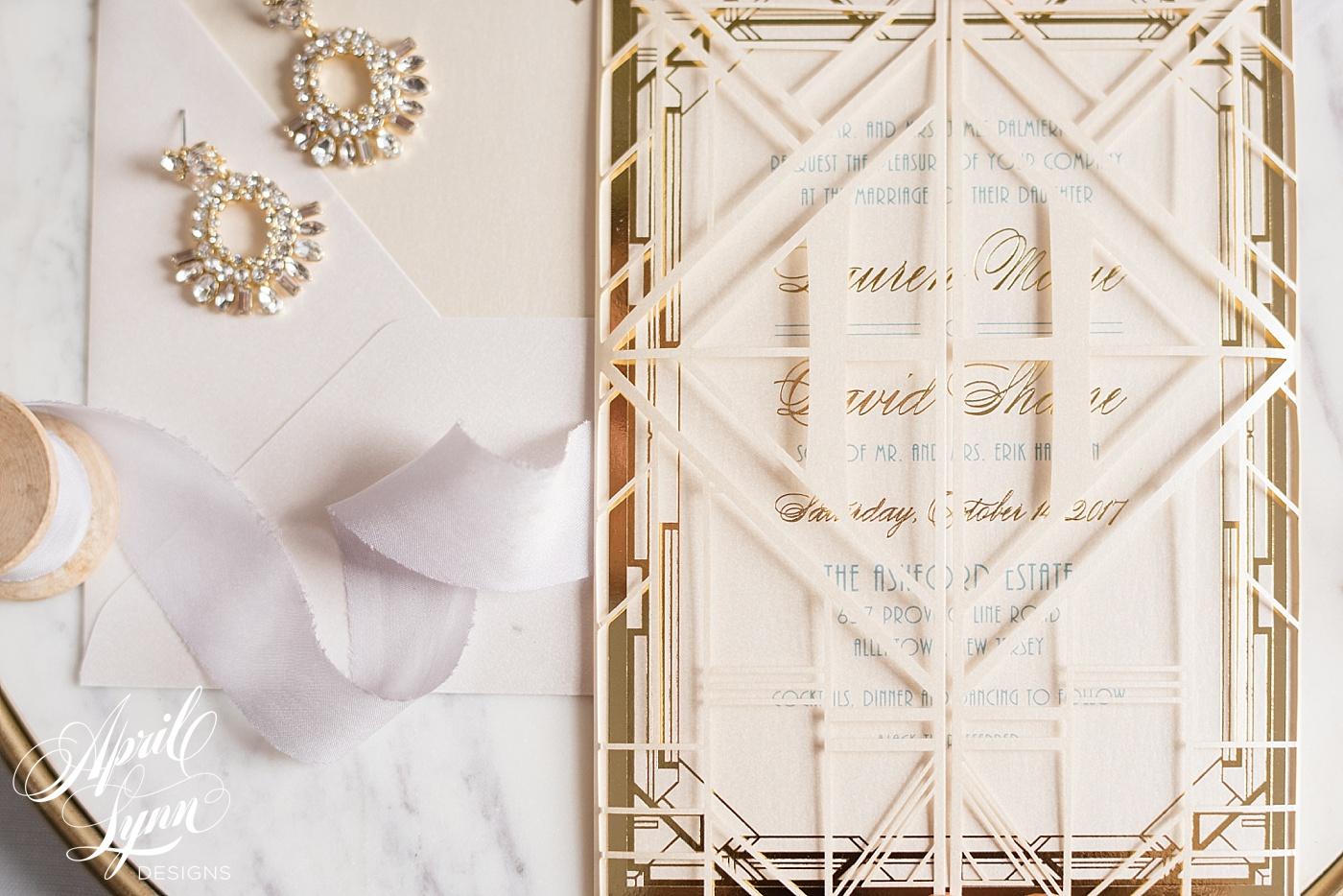April_Lynn_Designs_Ashford_Estate_Lauren_Dave_Lasercut_Wedding_Invitation_Blue_Gold_Ivory_Luxury_Philadelphia_2