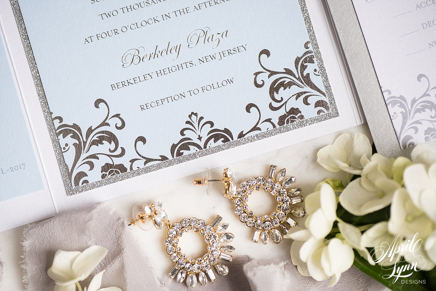 Glam Pocketfold Disney Wedding Invitation Suite | www.aprillynndesigns.com