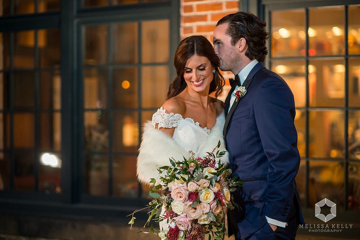 Phoenixville Foundry Elegant Industrial Wedding | www.aprillynndesigns.com