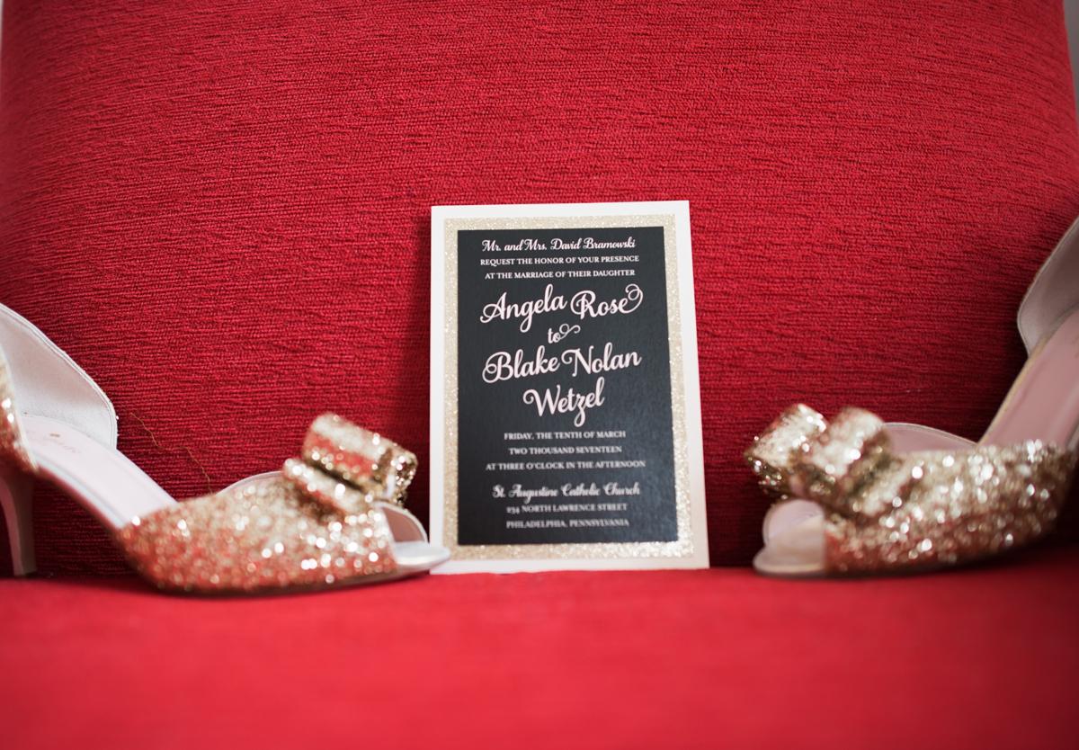 Angela and Blake's Luxury Cescaphe Ballroom Wedding   www.aprillynndesigns.com
