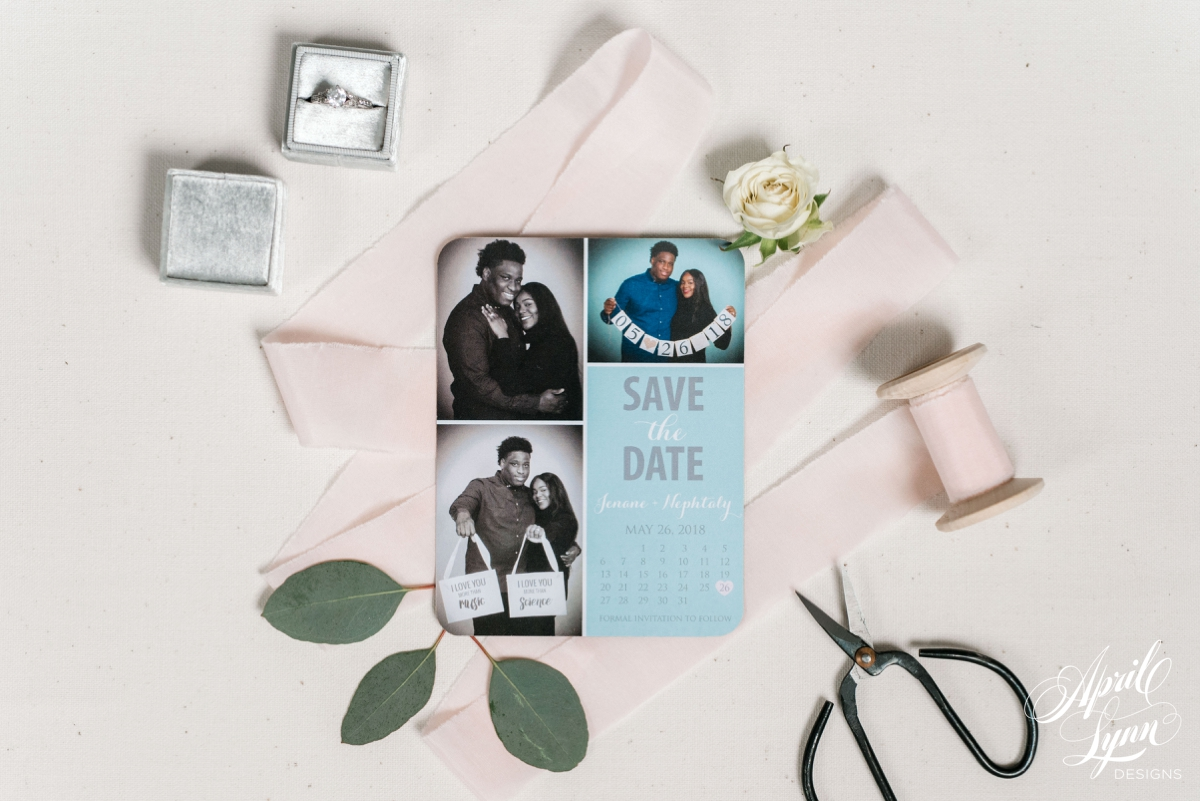 Save the Date Magnet | www.aprillynndesigns.com