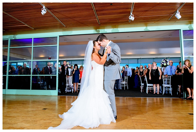 Philadelphia Seaport Museum Wedding Reception First Dance